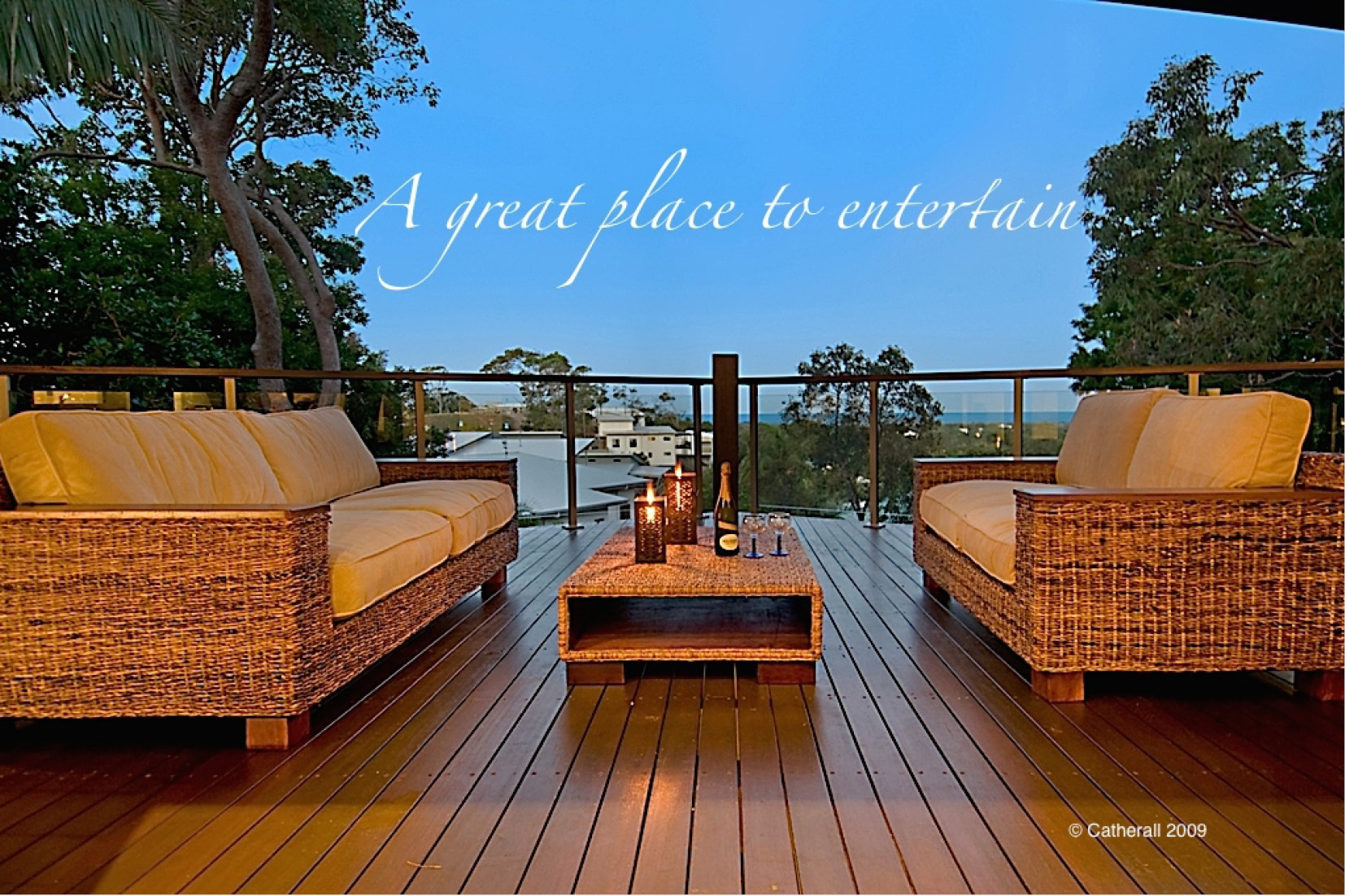 Decks Sunshine Coast - to entertain