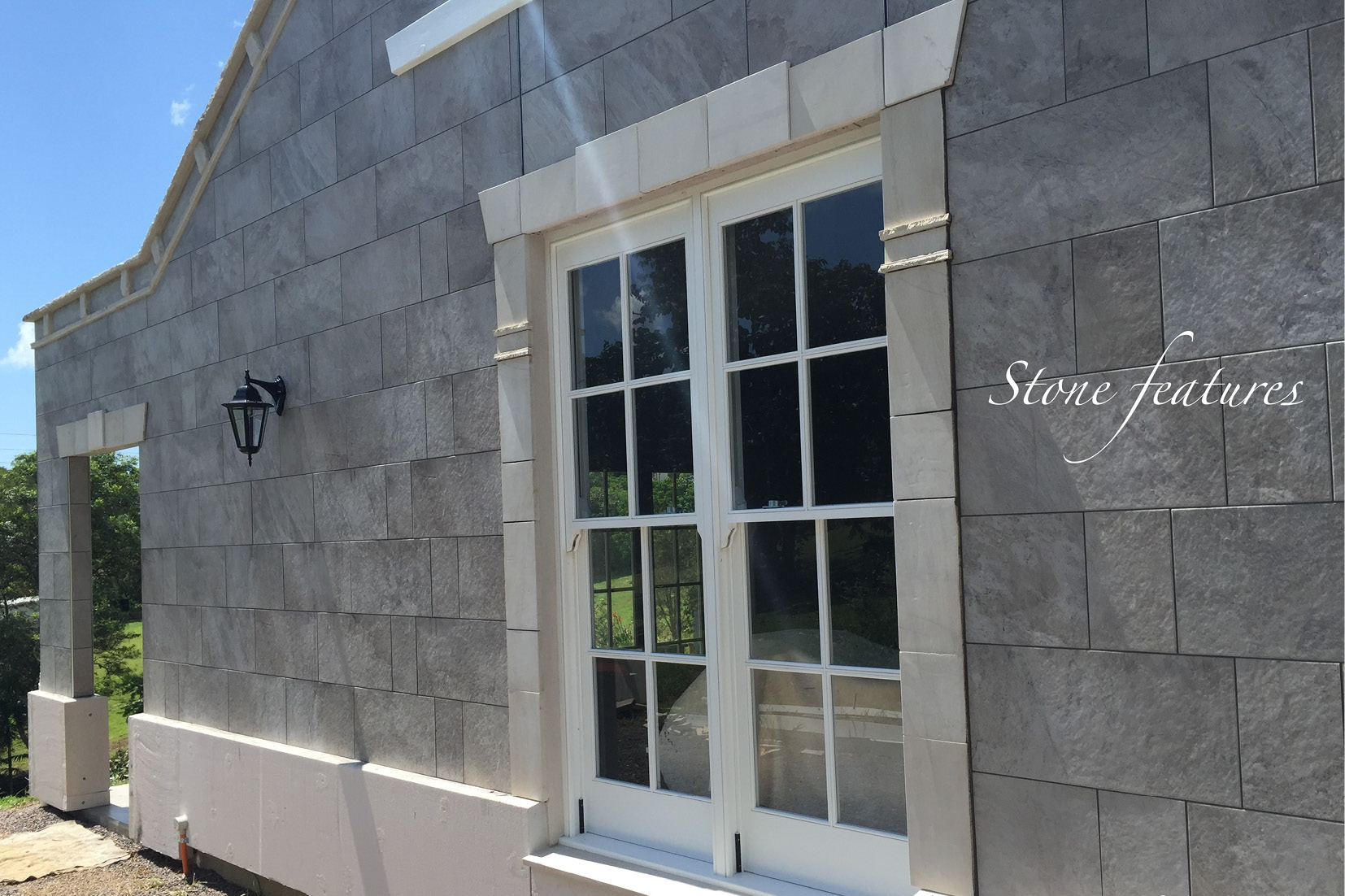 Sunshine Coast Builder - Stone Features