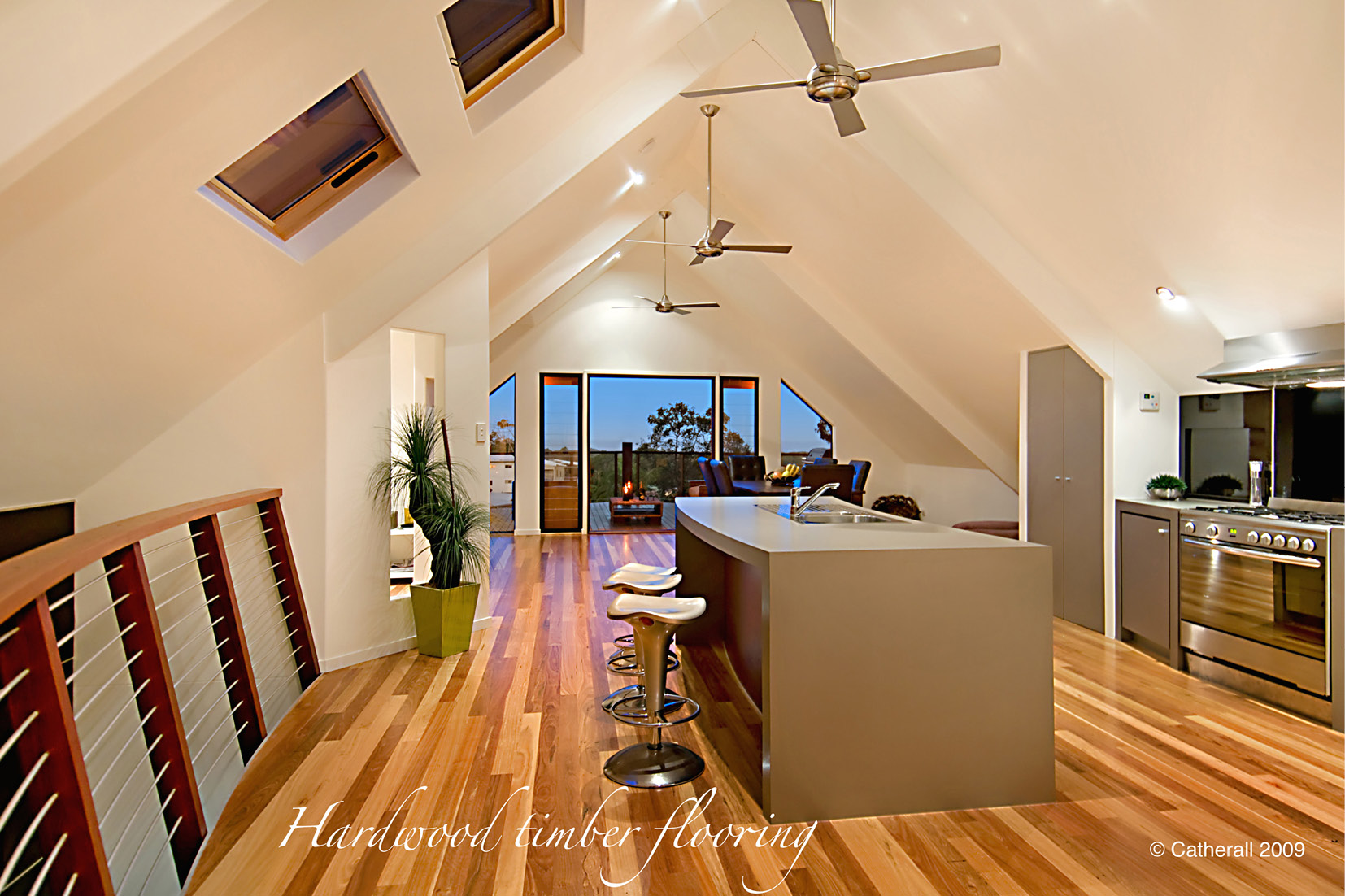 Sunshine Coast Builder using hardwood timber flooring